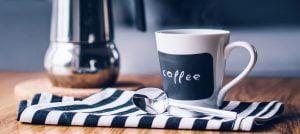 Koffiekan en kopje