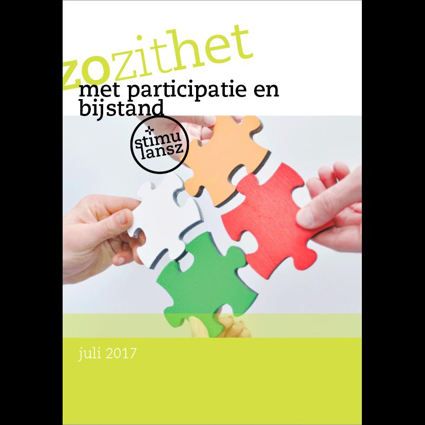 Brochure Zo zit het met participatie en bijstand