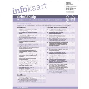 infokaart schuldhulp Stimulansz