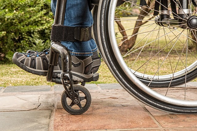 rolstoel ingezoomd