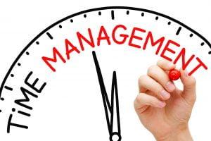 klok met de woorden time management