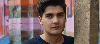 jonge vluchteling