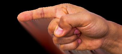 wijzende vinger