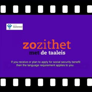 Video over de Taaleis met Engelse ondertiteling, Stimulansz