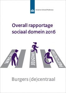 Tweede overall rapportage sociaal domein SCP