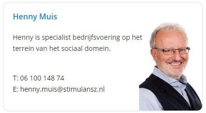 Neem contact op met Henny Muis