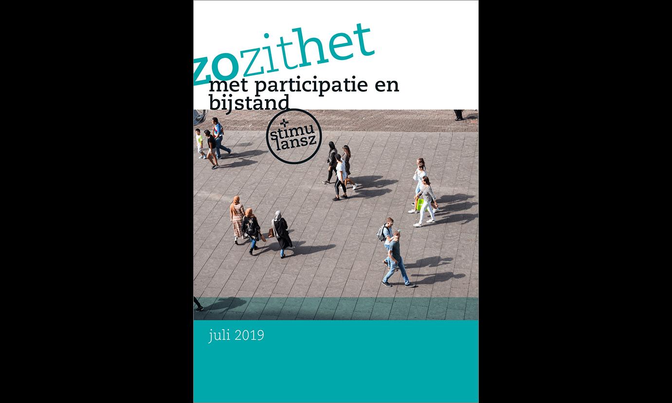 Omslag brochure Zo zit het met participatie en werk