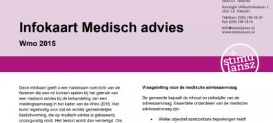 Infokaart Medisch Advies Wmo