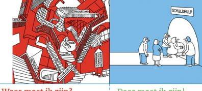 uitsneden infographic schuldhulp