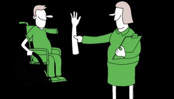 Cartoon wmo consulent