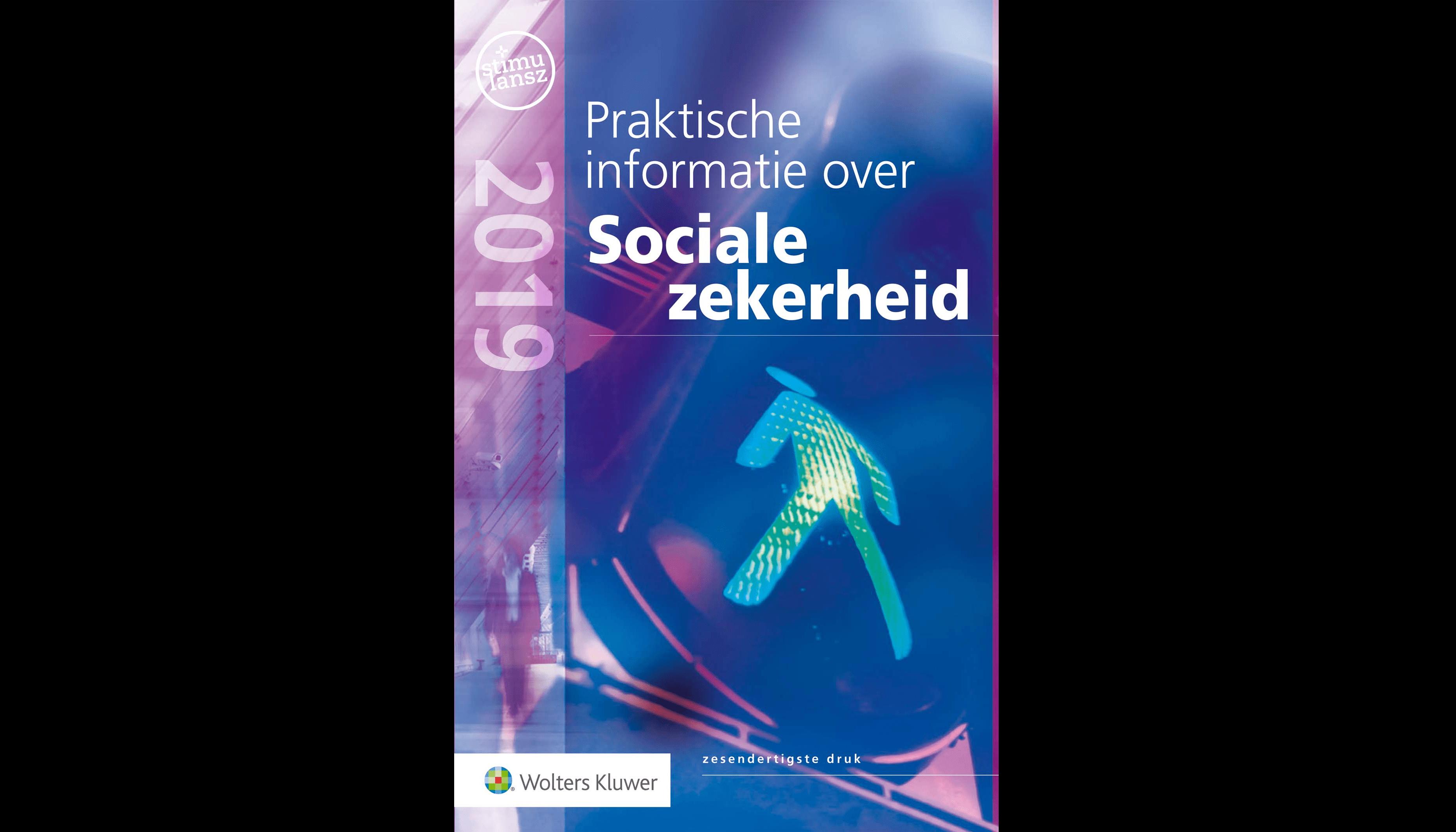 Omslag praktische informatie sociale zekerheid 2019