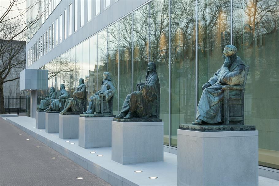 Foto gebouw Hoge Raad